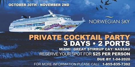 Throwback Halloween Party Cruise 2020 tickets
