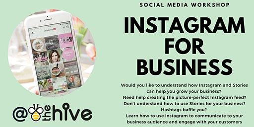 Instagram for Business - Thursday 26th March