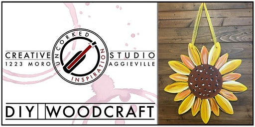 Wood Painting | Sunflower
