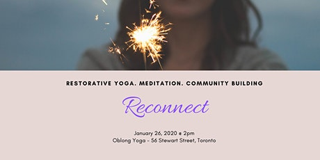 Reconnect - A Workshop to Restore & Set Intentions for 2020 tickets