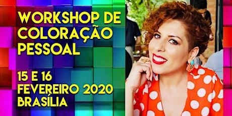 Workshop de Coloração Pessoal para Profissionais da Beleza ingressos