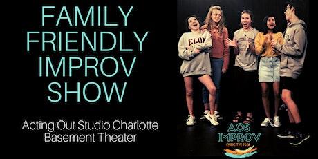 Family Friendly Improv Comedy Show tickets