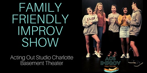 Family Friendly Improv Comedy Show
