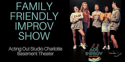 Family Friendly Improv Comedy Show