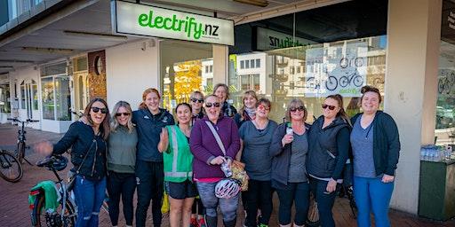 Women's try an e-bike ride Cambridge 10:30 21/12