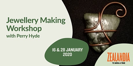 Jewellery making workshop with Perry Hyde tickets