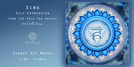 SING: Self-Expression (The Throat Chakra) tickets