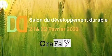 Salon du développement durable - Ceci est un évènement fictif billets