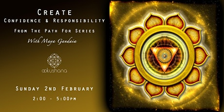 CREATE: Confidence & Responsibility (The Solar Plexus) tickets