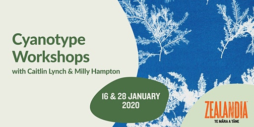 Cyanotype Workshops with Caitlin Lynch & Milly Hampton