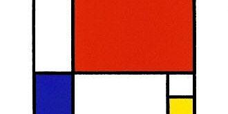 Mondrian Tape Shapes