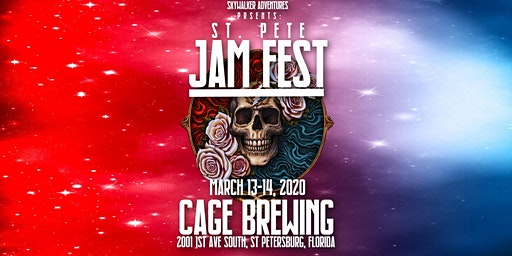 Skywalker Adventures Presents St Pete Jam Fest at Cage Brewing