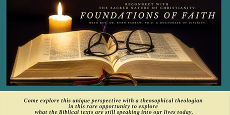 Foundations of Faith: Reconnect with the Sacred Nature of Christianity tickets