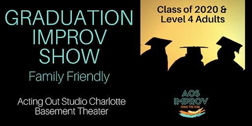 Graduation Improv Comedy Show - Family Friendly