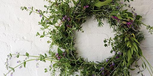 Shop Small Saturday: DIY Holiday Farm Wreath Making