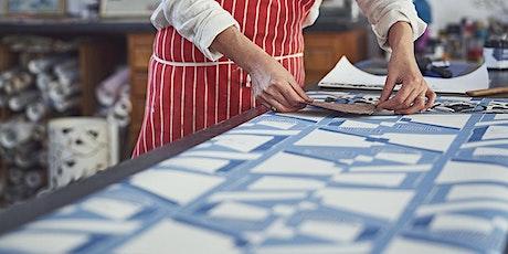 Wallpaper printing workshop tickets