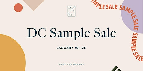 Rent the Runway Sample Sale – DC tickets