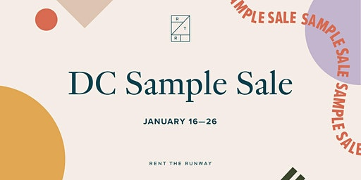 Rent the Runway Sample Sale – DC