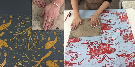 Wallpaper printing workshop