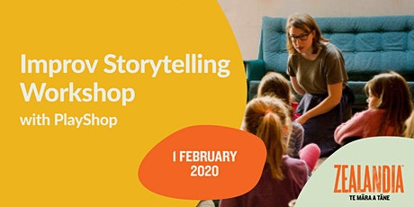Improv Storytelling Workshop with PlayShop tickets