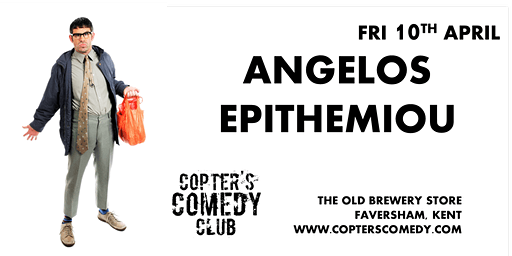 Copter's Comedy Club with Angelos Epithemiou