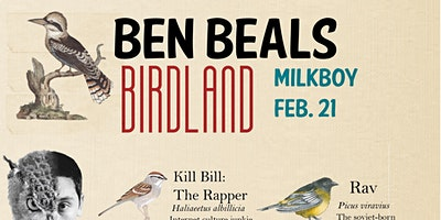 Ben Beal Presents: Birdland with **** Bill, Airospace and Scuare