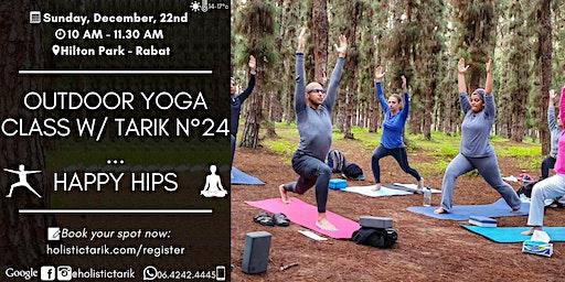 Outdoor yoga class in Rabat n°24: Happy Hips
