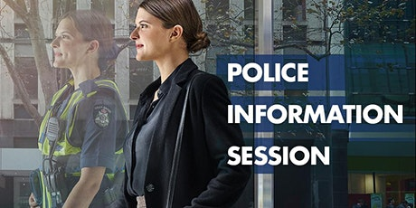 Police Information Session - Shepparton - June tickets