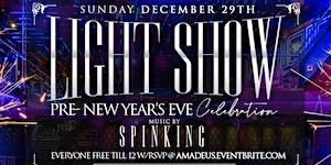 LIGHT SHOW @ AMADEUS NIGHTCLUB
