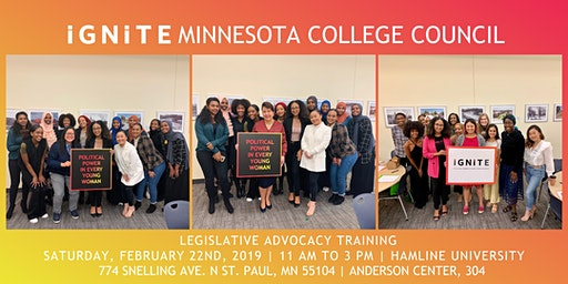 Legislative Advocacy Training: Minnesota College Council