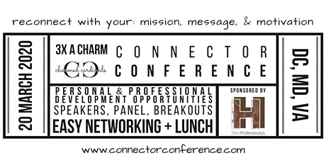 Connector Conference 3x  tickets