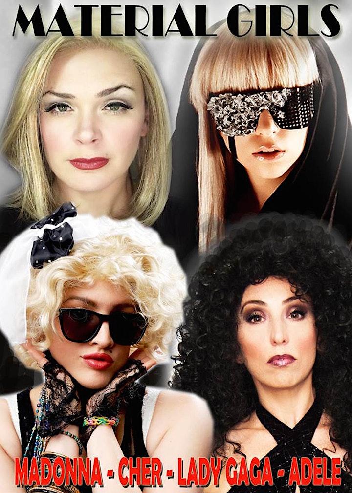 Material Girls: Adele, Lady Gaga, Madonna & Cher Tribute - Matinee image