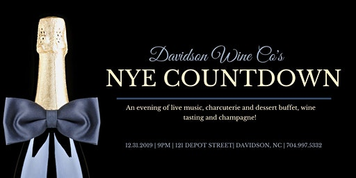 New Year's Eve Countdown with Davidson Wine Co.