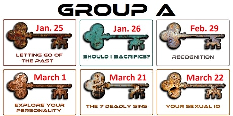 The Conscious Quest - Group A - 6 Events tickets