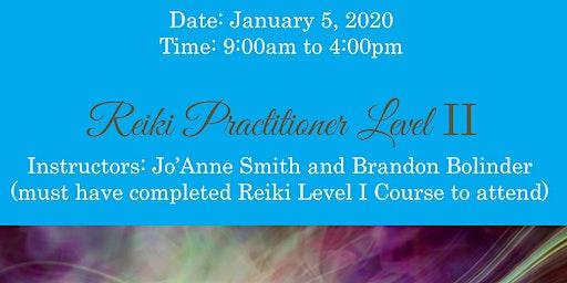 REIKI PRACTITIONER LEVEL II CERTIFICATION WITH SALT LAKE MEDIUM, JO'ANNE SMITH & BRANDON BOLINDER REIKI MASTERS/TEACHERS