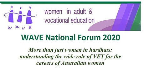 WAVE Forum 2020 - More than just women in hardhats tickets