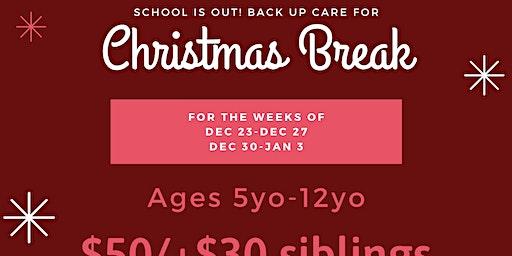 Christmas Break Camp