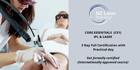 Core Essentials IPL & Laser Certification Course  tickets