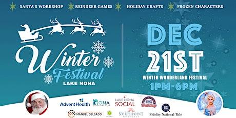 Winter Wonderland Festival in Lake Nona tickets