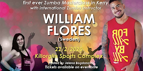 Zumba fitness party with William Flores (Stockholm) tickets