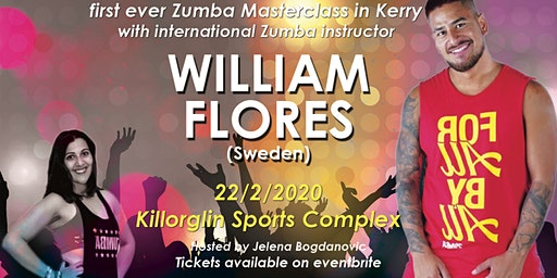 Zumba fitness party with William Flores (Stockholm)