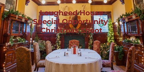 Special access to photograph Lougheed House at Christmas photography workshop tickets