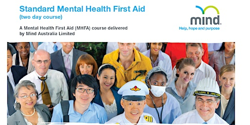 Standard Mental Health First Aid - Two Day Course