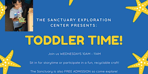 Toddler Time at the Marine Sanctuary!