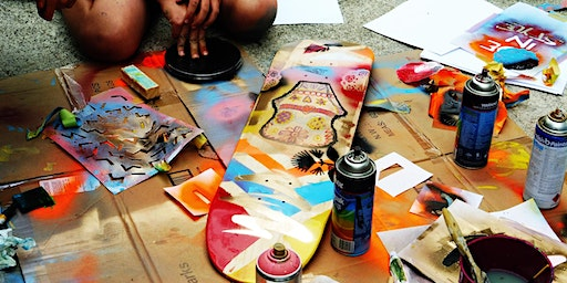 Level Up - Summer Series: Design Your Own Board.  For ages 14 - 24 years