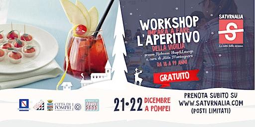 L'APERITIVO DI NATALE (workshop gratuito)