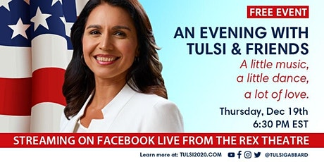 An evening with Tulsi and friends tickets