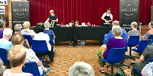 Live Health Cooking Presentation - Seniors Festival
