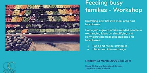 Community Workshop - Feeding Busy Families