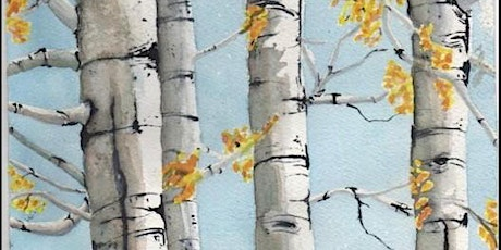 Paint and Sip - Birch Trees tickets